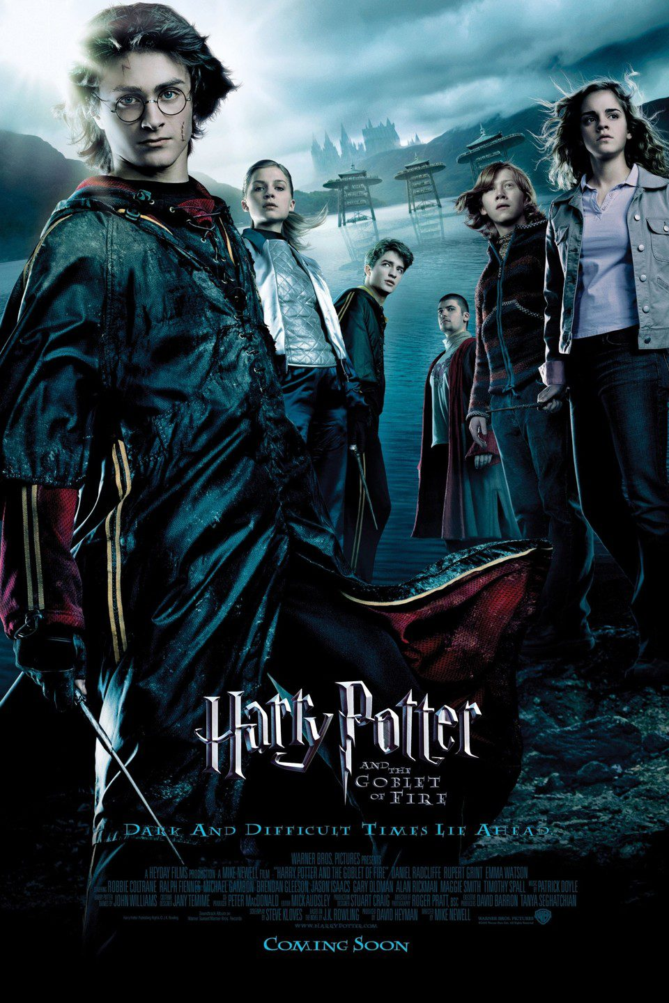 Harry Potter y el caliz de fuego cartel
