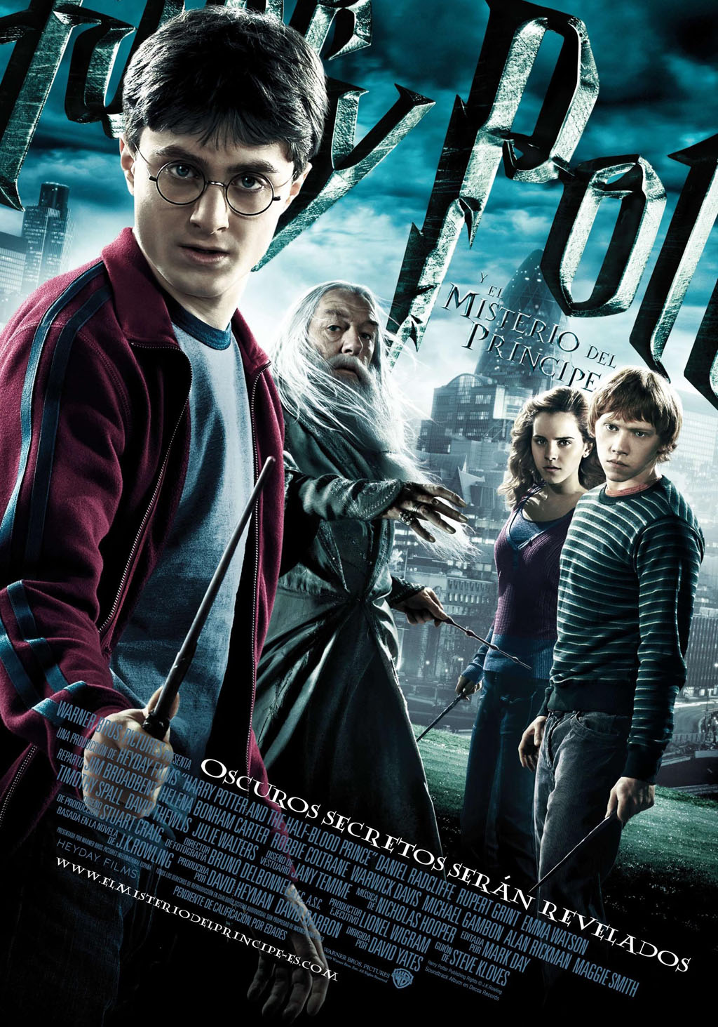 Harry Potter y el misterio del principe cartel